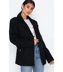 nly trend short belted jacket kappor
