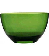 saladeira em acrílico 4 litros ky1074 verde