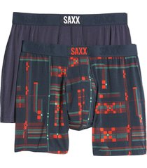 men's saxx ultra 2-pack boxer briefs