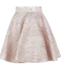 dolce & gabbana fitted waist short skirt