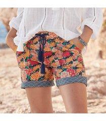 sundance catalog women's kalini shorts - petites in diamdprnt petite 2xs