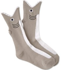 k. bell socks women's shark mouth crew socks
