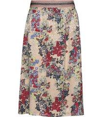 skirt in winter berry print knälång kjol multi/mönstrad coster copenhagen