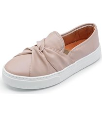 casual slip on cristaishoes rosê