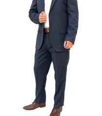 traje gris oscar de la renta b8sut15-gry