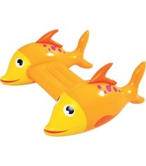 rhinomaster play adventurous fish - inflatable pool kickboard