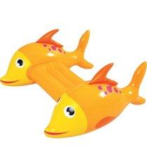 rhinomaster play adventurous fish - inflatable swimming pool kickboard