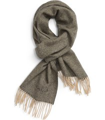 women's canali camel hair scarf