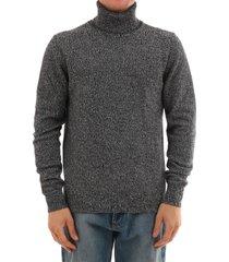 dolce & gabbana pullover gray wool