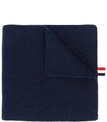 4-bar stripe cashmere scarf
