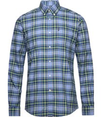 barbour hland ch 26 tf overhemd casual blauw barbour