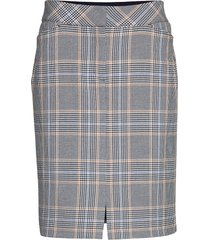 skirt medium length classic kort kjol grå betty barclay