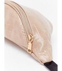 want croc the time faux leather fanny pack