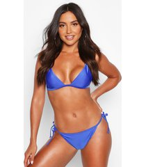 mix & match itsy bitsy bikini top, blue