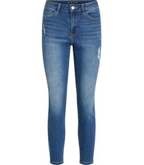 straight fit jeans cropped