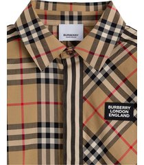 burberry barret vintage check shirt
