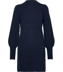 nubella dress gebreide trui blauw nümph