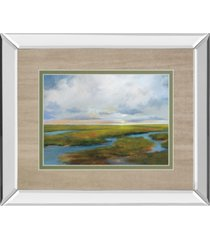 "classy art brilliant day's end by jackson v. mirror framed print wall art, 34"" x 40"""