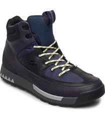urban break 03201cma snörade stövlar blå lacoste shoes