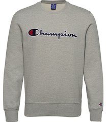 crewneck sweatshirt sweat-shirt trui grijs champion