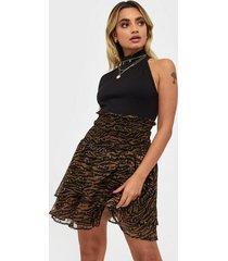 co'couture fantasy zebra skirt minikjolar