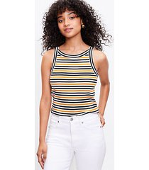 loft striped halter tank