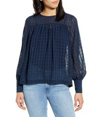 women's chelsea28 sheer blouse