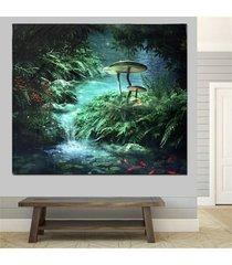 hada del bosque pared de colgante de la tapicería de bohemia hippie banda colcha decoración - 2