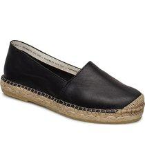 mia sandaletter expadrilles låga svart pavement
