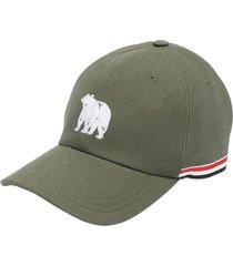 classic bear icon baseball cap, green