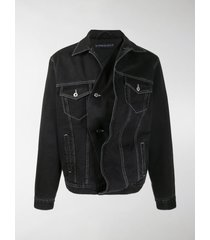 y/project twisted denim jacket