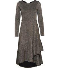 clea dress knälång klänning svart just female