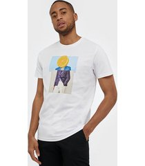 selected homme slhevan ss o-neck tee b t-shirts & linnen bright white