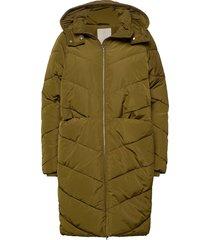 georgina coat gevoerd jack groen minus