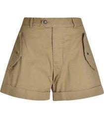 dsquared2 flared shorts