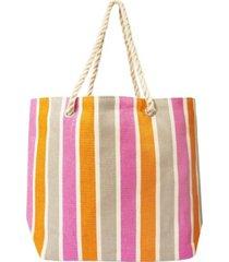 area stars women's stripe tote bag