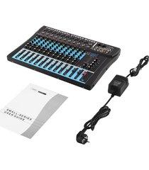 ew ct12 10 mono y 2 estéreo de 12 canales de entrada usb de la consola mezcladora profesional