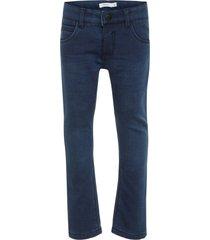 jeans regular fit fleecevoering