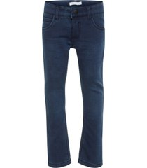 jeans regular fit fleecevoering