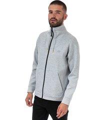 mens motion ergonomic cotton blend zip sweatshirt