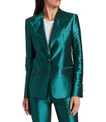 iridescent blazer