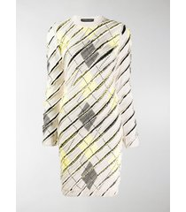 y/project patterned knit dress