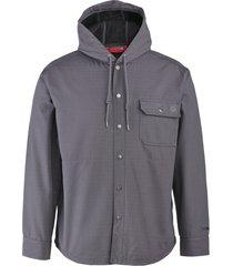 wolverine i-90 shirt jac granite, size l