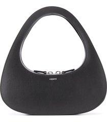 coperni baguette hobo shoulder bag - black