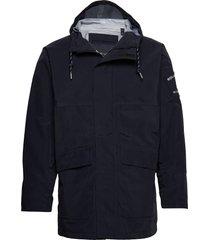 sea jacket regnkläder blå henri lloyd