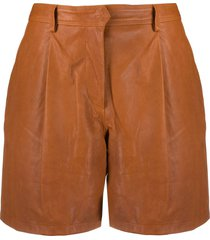 rag & bone high-waist shorts - brown