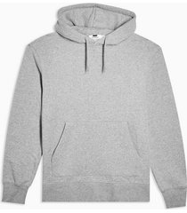 mens grey gray peached hoodie