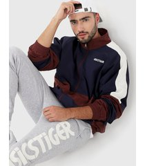 chaqueta azul-vinotinto asics cb wb jkt