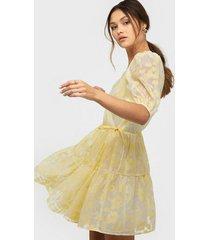 nly trend bloom organza dress skater dresses