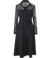 jurk in midilengte van riani zwart